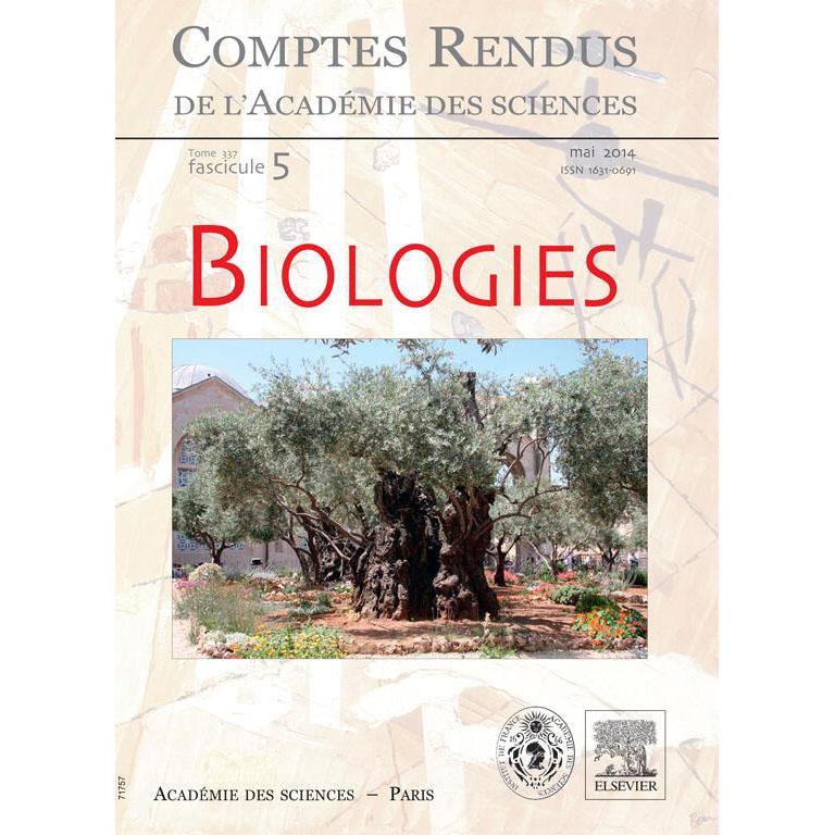 Biologies - Académie des sciences