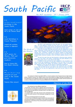 Newsletter IRCP 2014