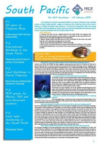 Newsletter IRCP 2015. Click on the picture to download it