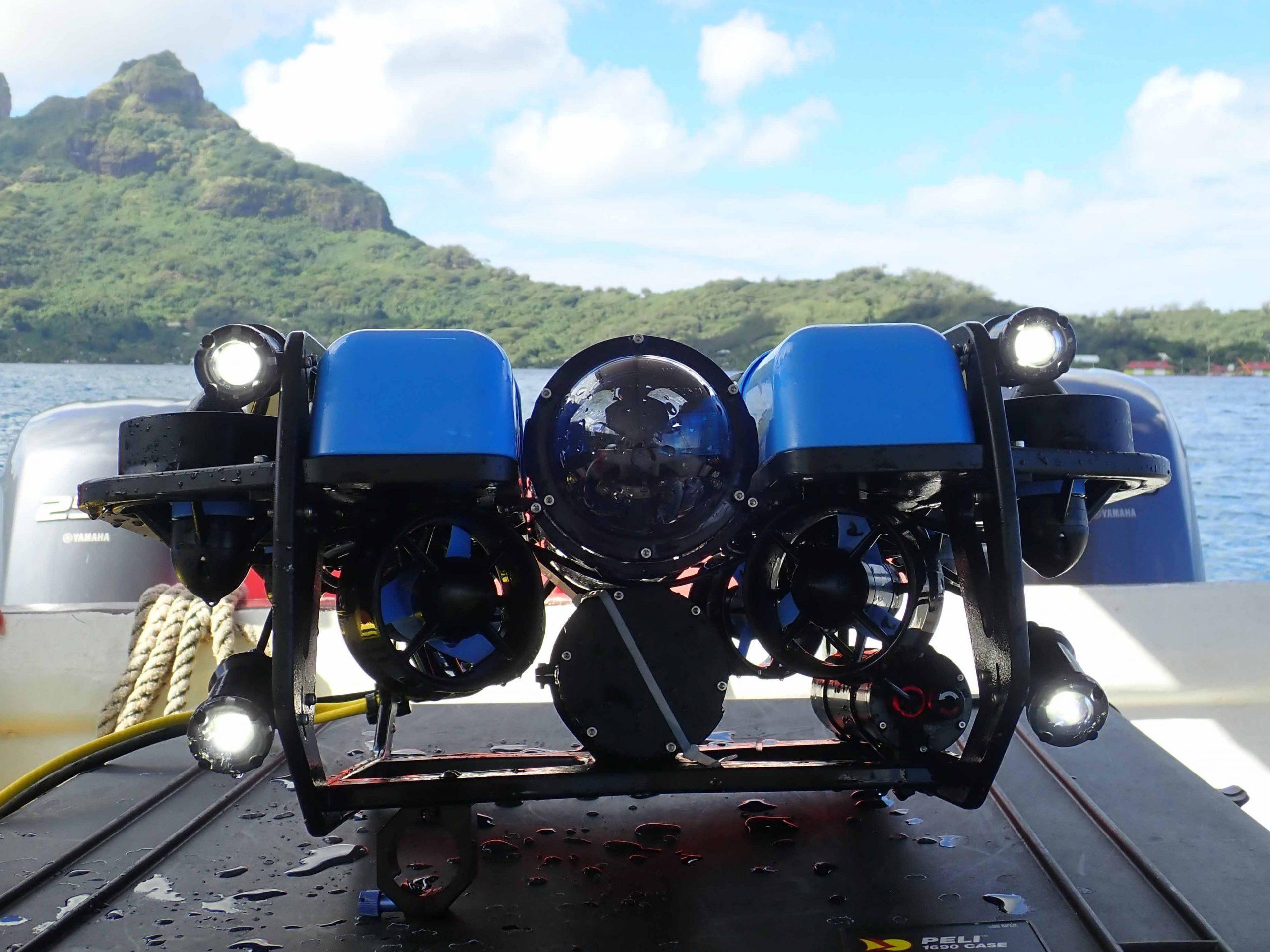 Beu ROV utilisé à Bora Bora